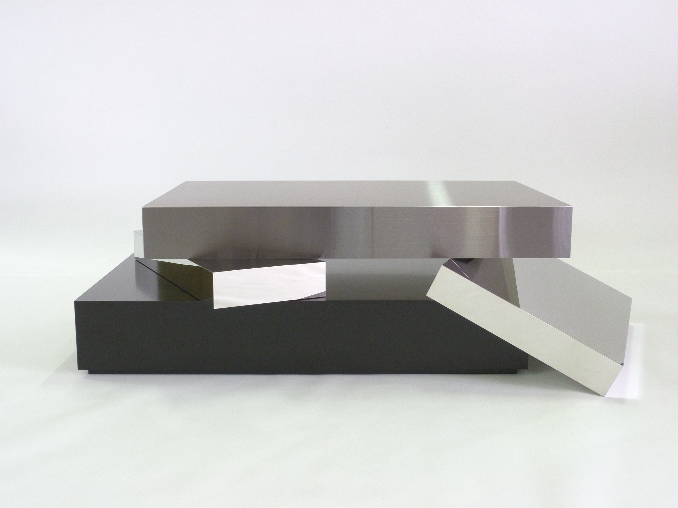 Graphic coffee table